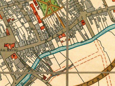 Ausschnitt Königstraße Karte 1906klein