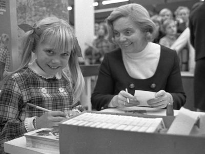 klein-Heidi-Kabel-Klein-Erna-Autogrammstunde-bei-Ramelow